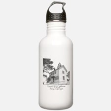 Yaquina Bay Lighthouse Water Bottle