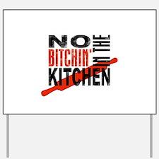 Unique Chef Yard Sign