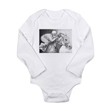 Home Stretch Long Sleeve Infant Bodysuit