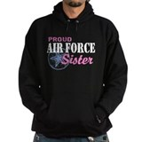 Air force sister Hoodie (dark)