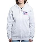 Proud Air Force Sister Women's Zip Hoodie