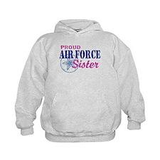 Proud Air Force Sister Hoodie