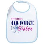 Proud Air Force Sister Bib