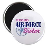 Proud Air Force Sister Magnet