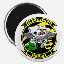 HSC-21 Blackjacks Magnet