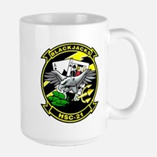 HSC-21 Blackjacks Large Mug