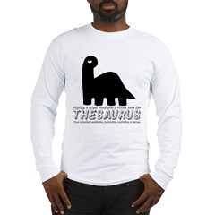Thesaurus Long Sleeve T-Shirt