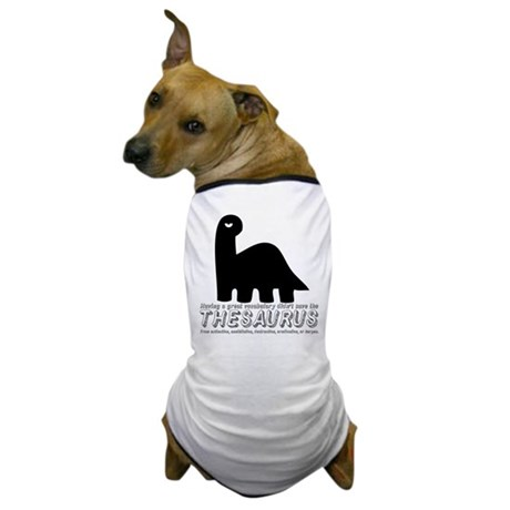 Thesaurus Dog T-Shirt