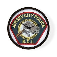 Jersey City Police BCI Wall Clock