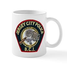 Jersey City Police BCI Small Mug