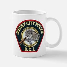 Jersey City Police BCI Small Small Mug