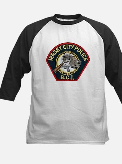 Jersey City Police BCI Kids Baseball Jersey