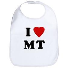 I Love MT Bib