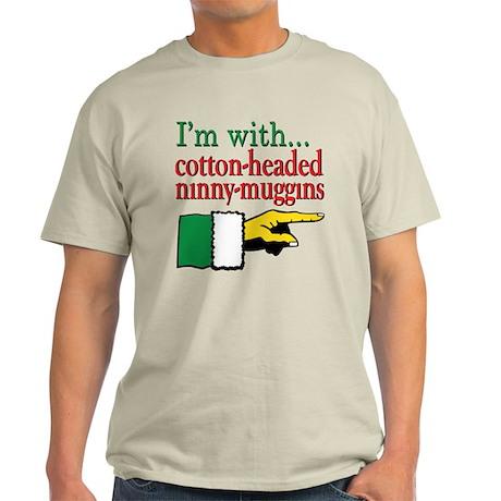 I'm with Elf Light T-Shirt