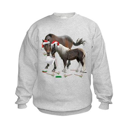 Caballo and Cisco Christmas Kids Sweatshirt