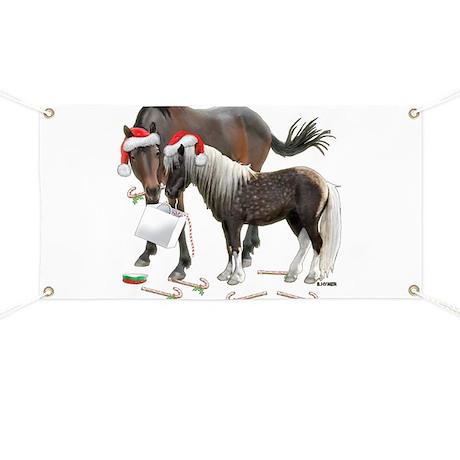 Caballo and Cisco Christmas Banner