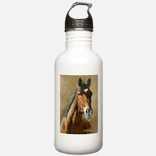 Unique Barbaro horse Water Bottle