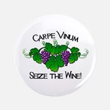 "Carpe Vinum 3.5"" Button"