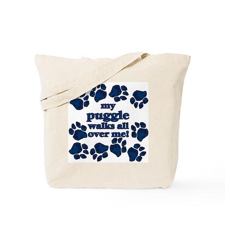 Puggle WALKS Tote Bag