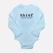 Thief Long Sleeve Infant Bodysuit