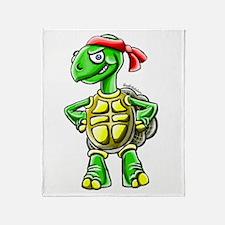 Ninja Turtle Tortoise Throw Blanket