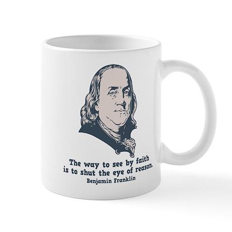 Franklin -Eye of Reason Mug