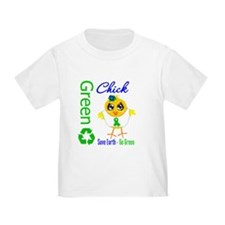 Save Earth Go Green Chick T