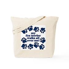 Fox Terrier WALKS Tote Bag