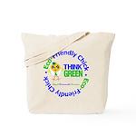 Eco-Chick Go Green Tote Bag