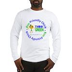 Eco-Chick Go Green Long Sleeve T-Shirt