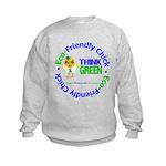 Eco-Chick Go Green Kids Sweatshirt