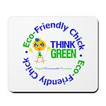 Eco-Chick Go Green Mousepad