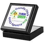 Eco-Chick Go Green Keepsake Box