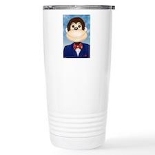 Funny Formal monkey Travel Mug
