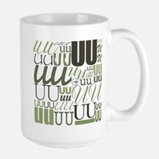 UU Typography (Sage) Mug