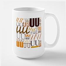 UU Typography (Autumn) Mug