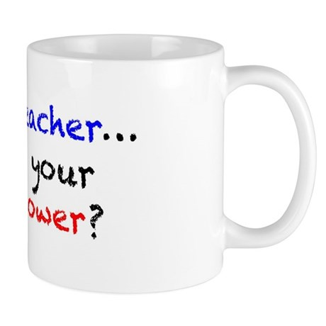 Teacher Superpower Mug