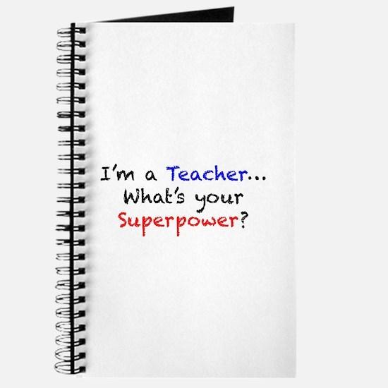 Teacher Superpower Journal