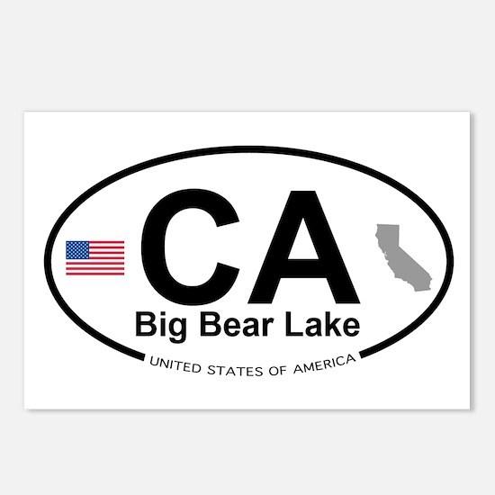 Big Bear Lake Postcards (Package of 8)