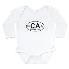 Big Bear Lake Long Sleeve Infant Bodysuit