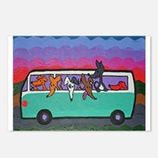 Go Greyhound Postcards (Package of 8)