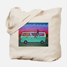 Go Greyhound Tote Bag