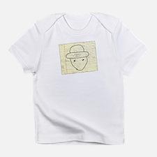 Cute Black nerd Infant T-Shirt