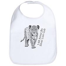 Silver Lion Cub Bib