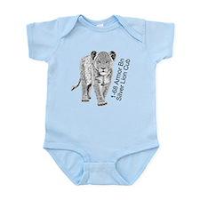 Silver Lion Cub Infant Bodysuit