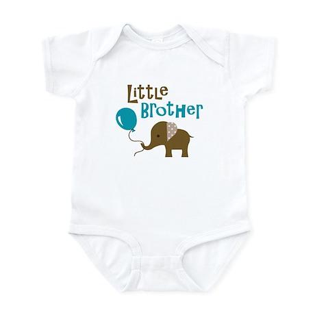 Little Brother - Mod Elephant Infant Bodysuit