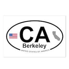Berkeley Postcards (Package of 8)