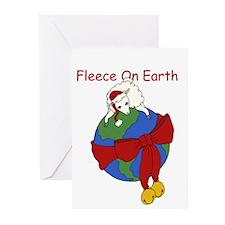 Fleece On Earth Greeting Cards (Pk of 10)