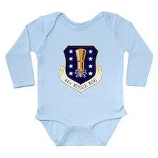 44th Missile Wing Long Sleeve Infant Bodysuit