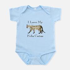 Felis Catus Infant Bodysuit
